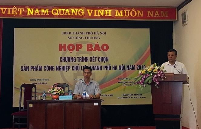 chuong trinh xet chon san pham cong nghiep chu luc ha noi phat trien co chon loc