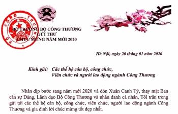 bo truong bo cong thuong gui thu chuc mung nam moi 2020