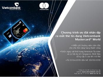 khuyen mai hap dan nhan dip ra mat the vietcombank mastercard world