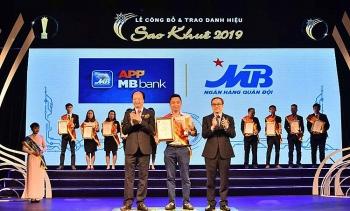 app mbbank la app ngan hang so duy nhat cho khach hang tai viet nam dat danh hieu sao khue 2019
