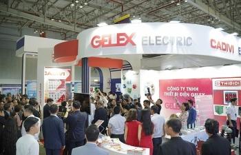 gelex electric mang nhieu san pham moi tham gia trien lam cong nghe thiet bi dien 2019
