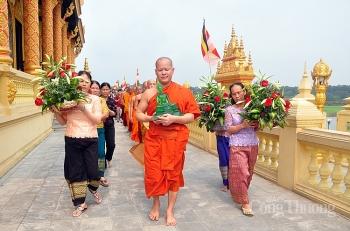 Đón Tết Chol Chnam Thmay của đồng bào Khmer tại Hà Nội