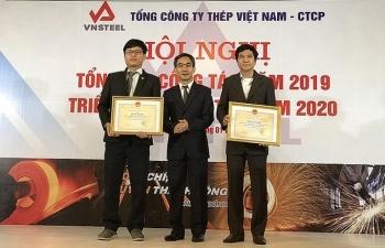 vnsteel nam 2019 cac chi tieu tai chinh deu dat ke hoach