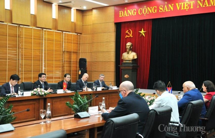 Đẩy mạnh hợp tác thương mại Việt Nam - Cuba đi vào chiều sâu, hiệu quả