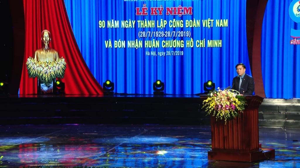 Công đoàn Việt Nam: 90 năm vinh quang đồng hành cùng đất nước