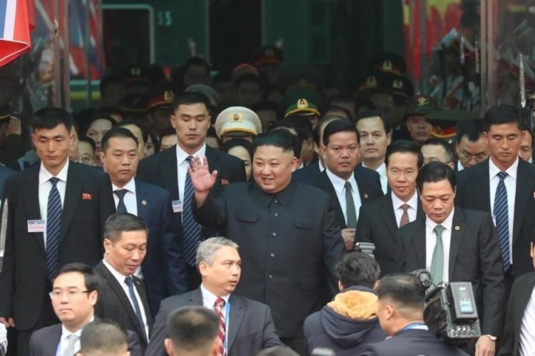 Chủ tịch Triều Tiên Kim Jong Un tới Việt Nam