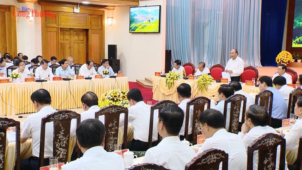 """Thủ tướng Chính phủ Nguyễn Xuân Phúc: """"Cần có ý chí, khát vọng, quyết tâm, đoàn kết, hành động để thúc đẩy thành công công việc"""""""