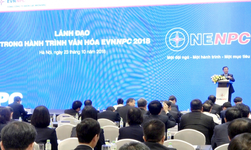 Văn hoá doanh nghiệp – động lực phát triển của EVNNPC